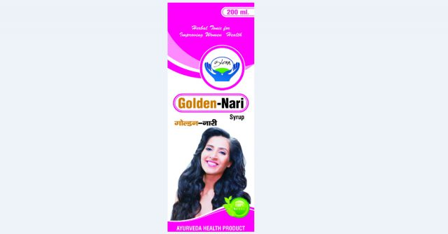Women Ayurvedic Health Tonic Golden Nari